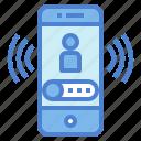 calling, mobile, phone, smartphone, telephone icon