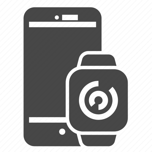 device, internet, mobile, smartwatch, technology icon