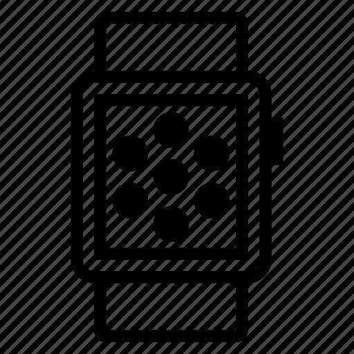 app, smart, smartwatch, watch icon