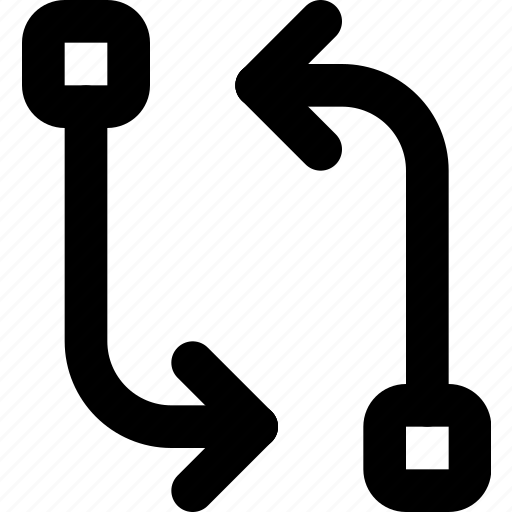 arrow, circuit, cycle, direction, orientation icon
