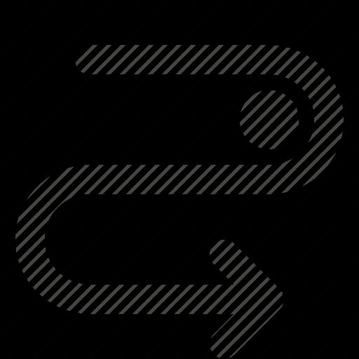 arrow, cycle, detour, direction, orientation icon