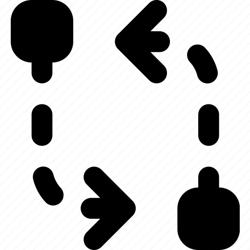 arrow, compare, direction, orientation icon
