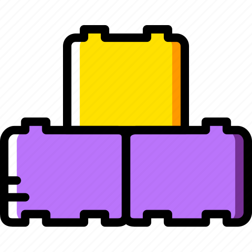 baby, blocks, building, child, kid, toy icon