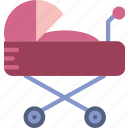 baby, child, toy, stroller, kid