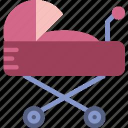 baby, child, kid, stroller, toy icon