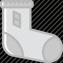 baby, child, kid, sock, toy icon