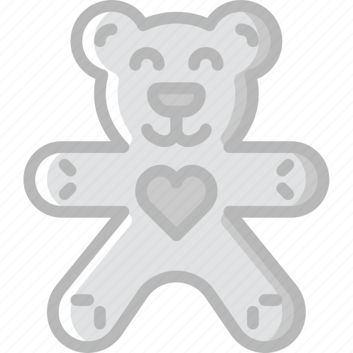 baby, child, kid, teddybear, toy icon