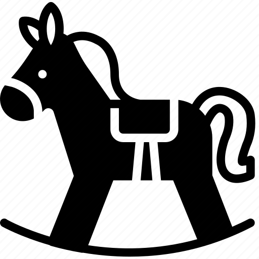 Baby, child, horse, kid, toy icon - Download on Iconfinder