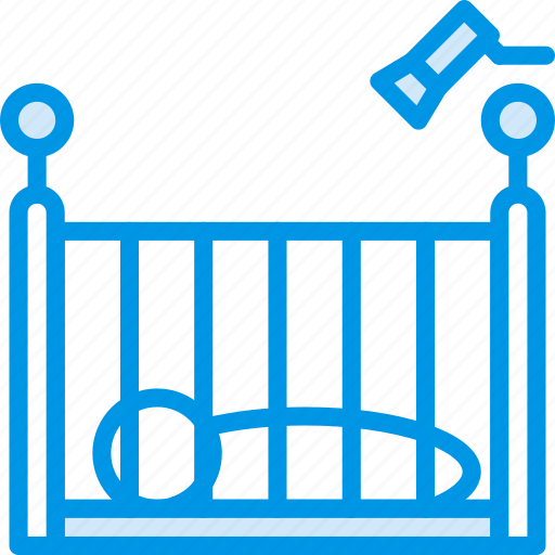 baby, child, crib, kid, toy icon