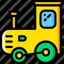 baby, train, toy, child, kid