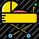 baby, child, toy, stroller, kid