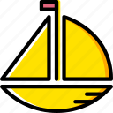 baby, child, toy, boat, kid icon