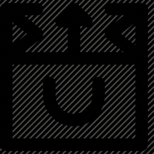 bag, business, finance, from, marketing, retrieve icon