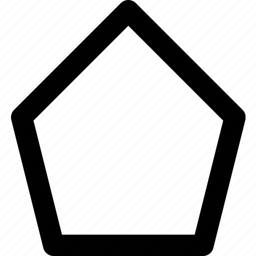 design, graphic, polygon, tool icon
