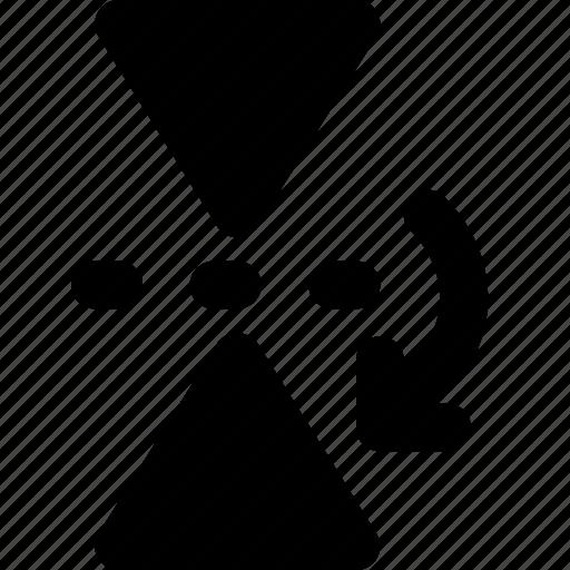 design, graphic, mirror, tool, vertically icon