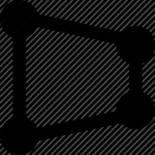 design, distort, graphic, perspective, tool icon