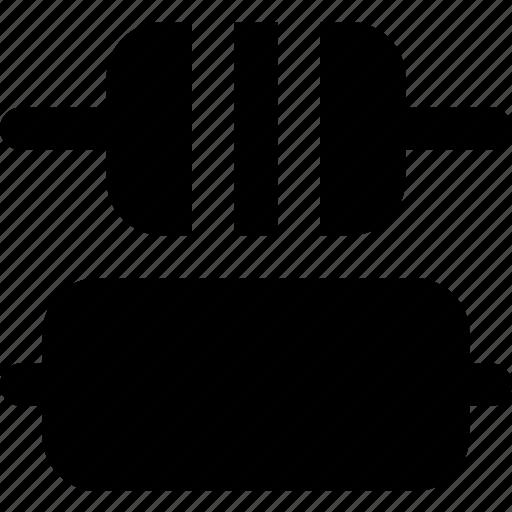 center, design, distribute, graphic, tool, vertical icon