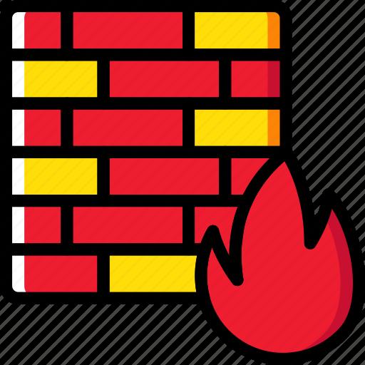 code, coding, development, firewall, programming icon