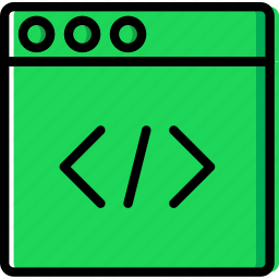 browser, code, coding, development, programming icon