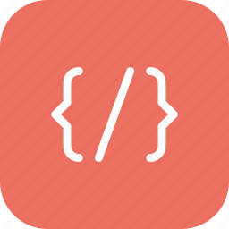 code, coding, development, programming icon
