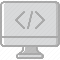 code, coding, development, pc, programming icon