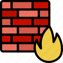 code, coding, development, firewall, programming icon