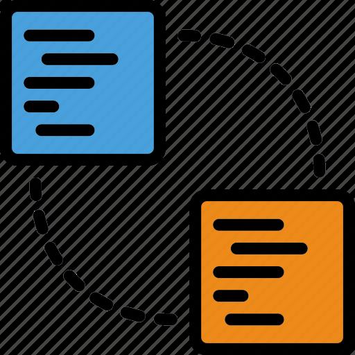 code, coding, development, information, programming, share icon