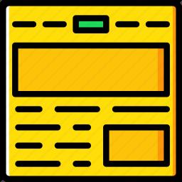 code, coding, development, grid, programming, web icon
