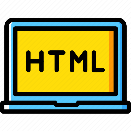 code, coding, course, development, html, programming icon