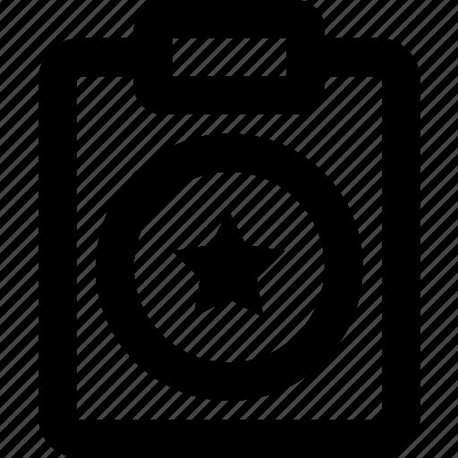 document, favroite, file, note, paper, write icon