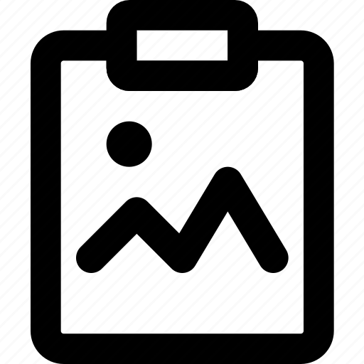 document, file, image, note, paper, write icon