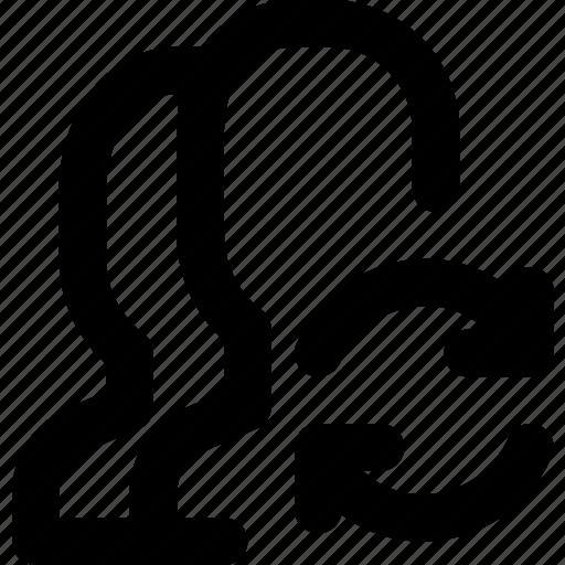 communication, interaction, interface, profiles, sync icon
