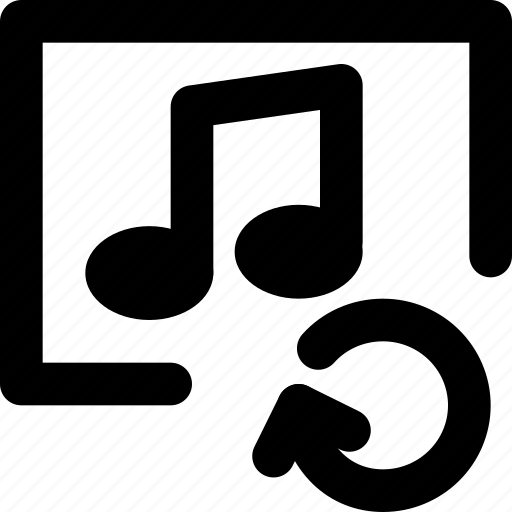 album, communication, interaction, interface, refresh icon