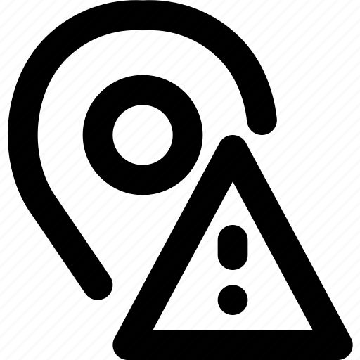 communication, interaction, interface, location, warning icon