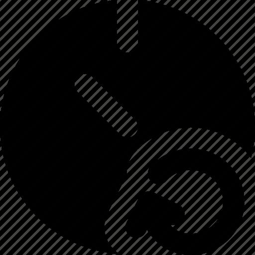 communication, interaction, interface, refresh, stopwatch icon
