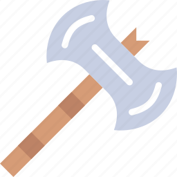 antique, axe, battle, medieval, old icon