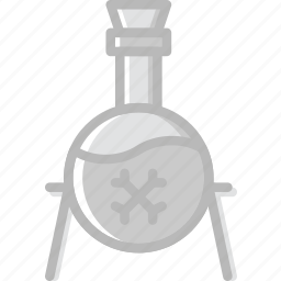 antique, medieval, old, poison icon