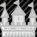 antique, castle, medieval, old