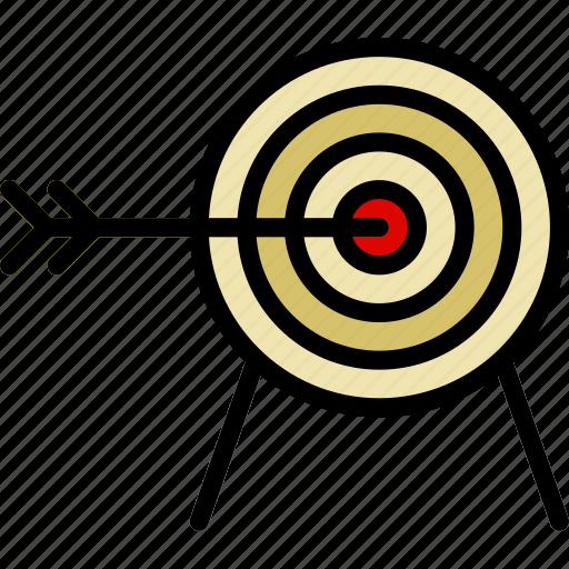 Antique, archery, medieval, old, target icon - Download on Iconfinder