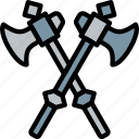 antique, axes, battle, medieval, old