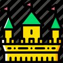 antique, castle, old, medieval