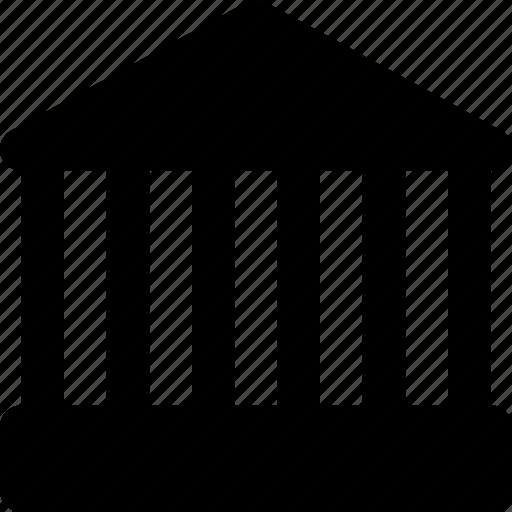 building, landmark, monuments, parthenon icon