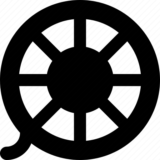 cinema, film, movie, roll, video icon