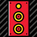 sound, play, club, speaker, music, audio