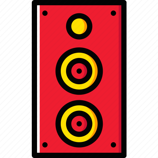 audio, club, music, play, sound, speaker icon