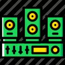 sound, play, audio, music, system
