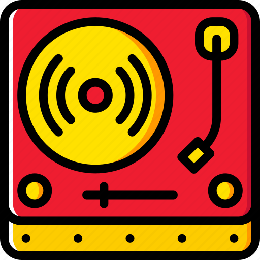 audio, music, play, sound, truntable icon