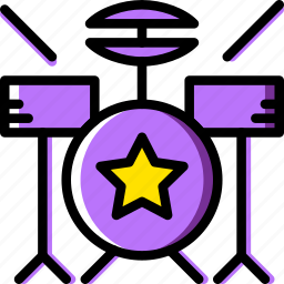 audio, drum, music, play, set, sound icon