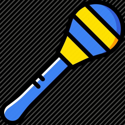 audio, maraca, music, play, sound icon