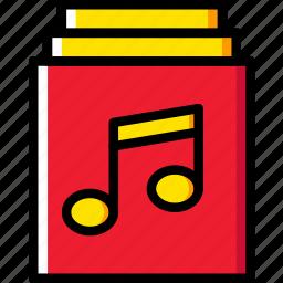 albums, audio, music, play, sound icon